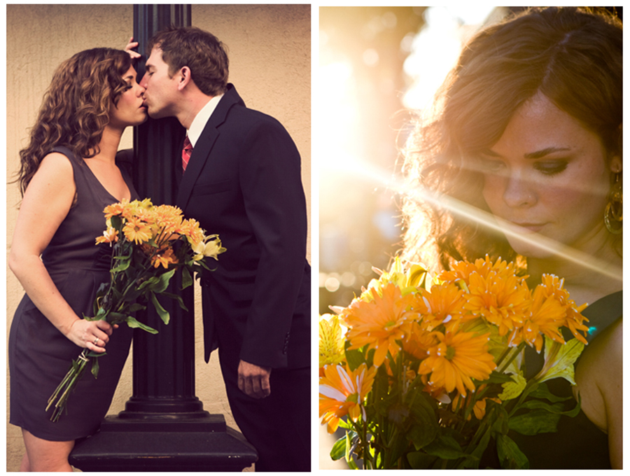Lewisburg engagement photography  to by married in pretty light with flowers